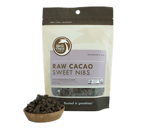 Big Tree Farms Cacao Nibs Cokelat Manis Alami