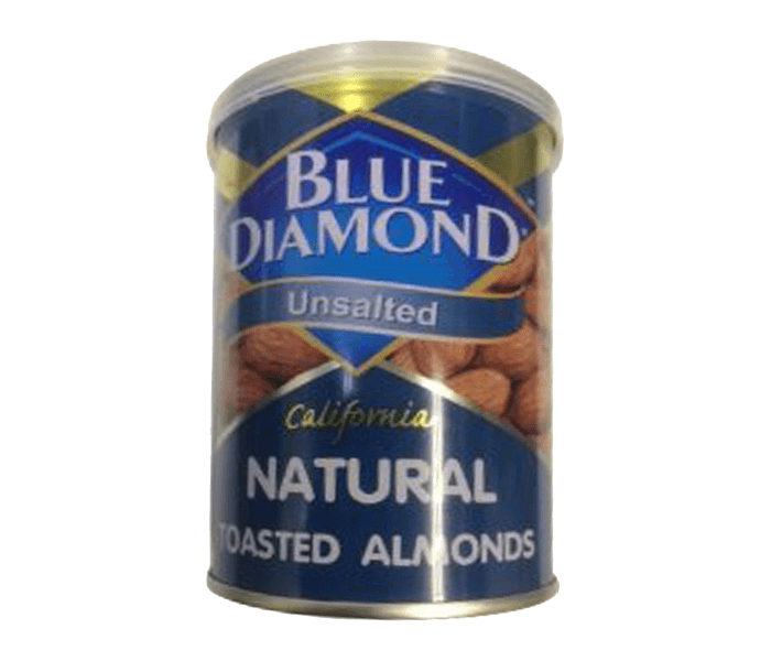 Blue Diamond Unsalted California Natural Toasted Almond 130 gr