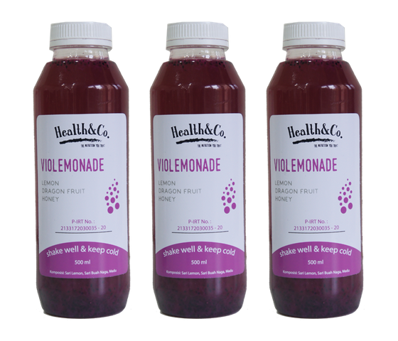 Health & Co. Paket 3 Botol Violemonade