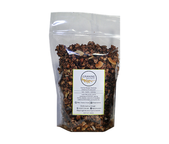 Granine Homemade Granola Chocolate Delight 400 gr