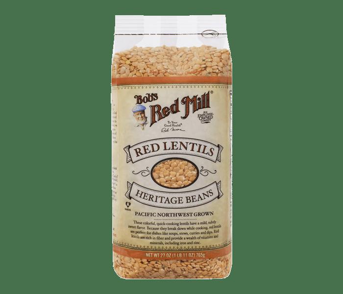 Bob's Red Mill Kacang Lentil Merah Organik