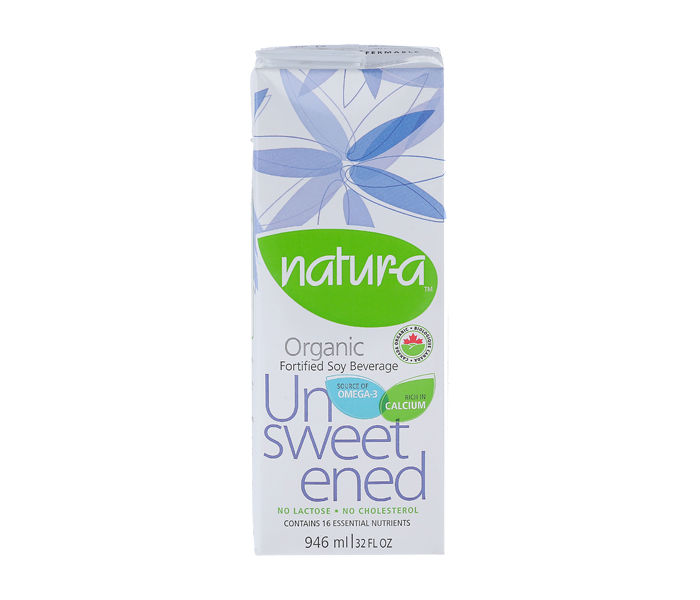 Natur-A Soy Milk Unsweetened 946 ml