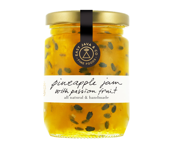 East Java Pineapple Jam with Passion Fruit