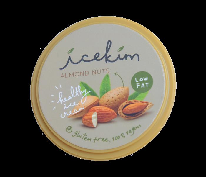 Icekim Ice Cream Almond Nuts 150 gr