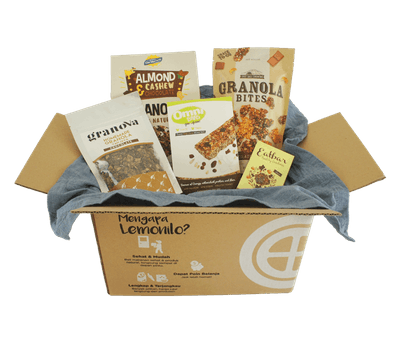 LemoniloBOX Paket Granola Cokelat