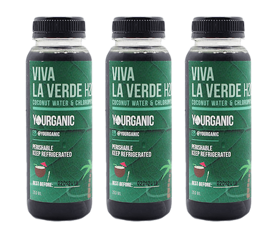 Yourganic Viva La Verde H2O 250 ml (Pack of 3)