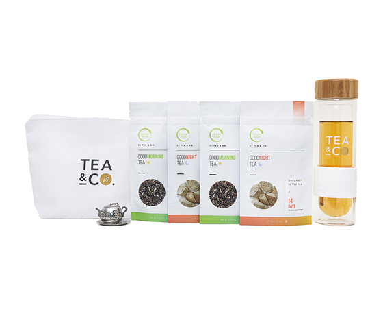 Teatox Detox Tea 28 Days + Tumbler Package