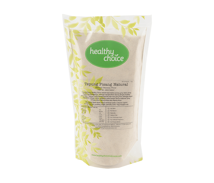 Healthy Choice Tepung Pisang Natural 1 kg