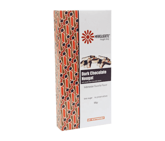 Marguerite Dark Chocolate Nougat 200 gr