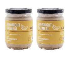 Yourganic Overnight Oatmeal Bananarama Pack of 2