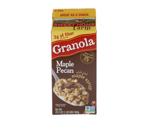 Sweet Home Farm Granola Maple Pecan with Maple Syrup