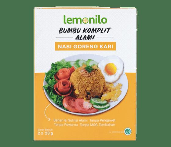 [Pre Order] Lemonilo Bumbu Komplit Alami Nasi Goreng Kari 46 gr