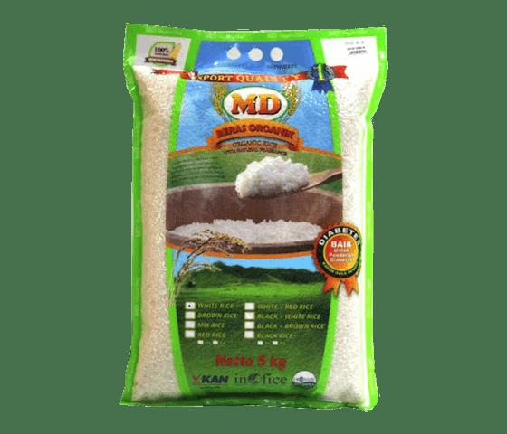 MD Beras Putih Ciherang Organik 5 kg
