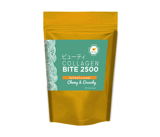 The Beauty Bites Collagen Bites 2500 Salted Caramel 125 gr