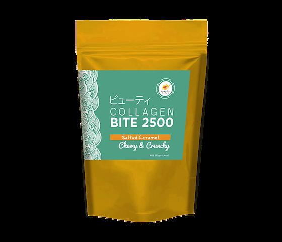 The Beauty Bites Collagen Bites 2500 Salted Caramel 110 gr
