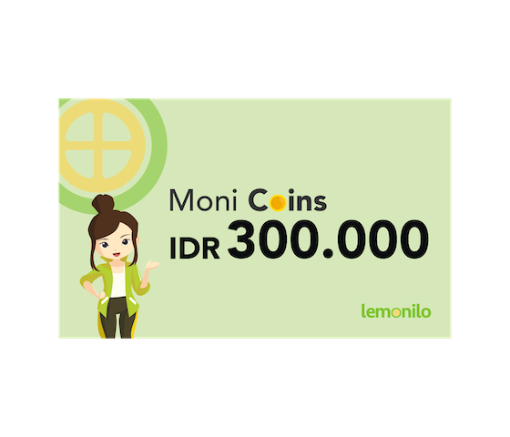 Top Up Moni Coins IDR 300.000
