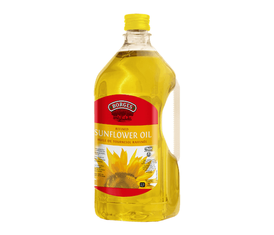 Borges Refined Sunflower Oil 2 L