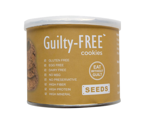 Lajoya Guilty-Free Seeds Cookies 180 gr