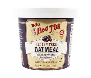 Bob's Red Mill Gluten Free Oatmeal Blueberry & Hazelnut 71 gr