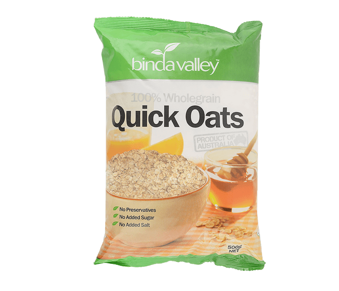 Binda Valley Quick Oats 500 gr