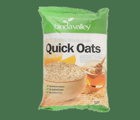 Binda Valley Quick Oats 500 gr
