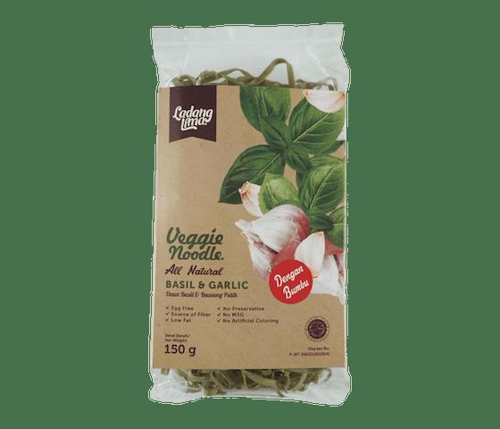 Ladang Lima Mie Instan Sayuran Basil & Bawang Putih