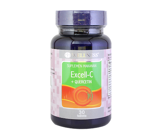 Wellness Excell C + Quercetin 30 Tablet