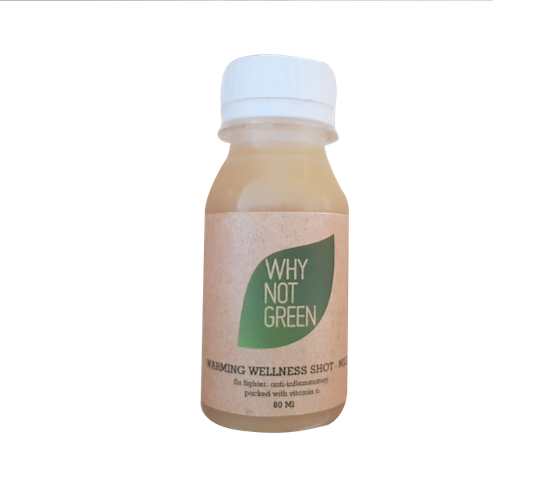 Why Not Green Warming Wellness Shot 80 ml