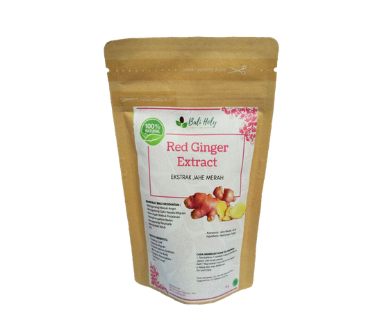 Bali Holy Red Ginger Extract With Sugar (Ekstrak Jahe Merah) 75 gr