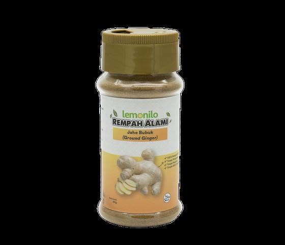 Lemonilo Rempah Alami Jahe Bubuk (Ground Ginger) 40 gr