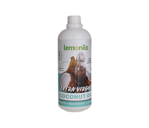 100% Organic Extra Virgin Coconut Oil (VCO) 1000 ml | Lemonilo