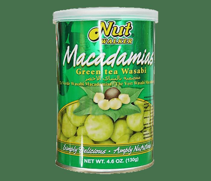 Nut Walker Macadamias Green Tea Wasabi 130 gr
