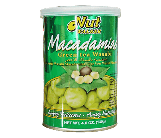 Nut Walker Macadamias Green Tea Wasabi 130 gr