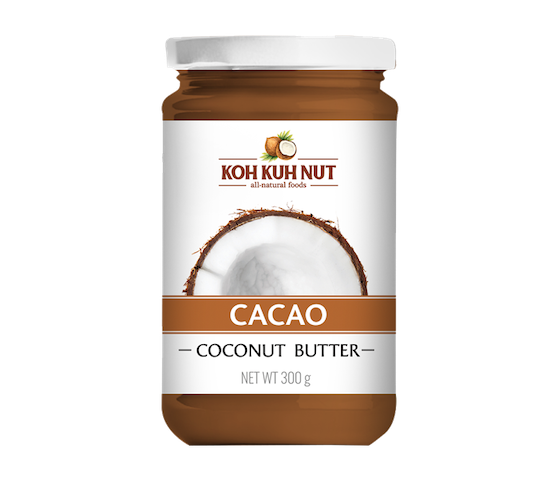 KohKuhNut Cacao Coconut Butter