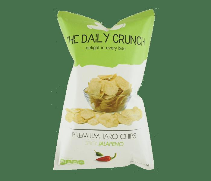 The Daily Crunch Keripik Talas Jalapeno