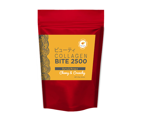 The Beauty Bites Collagen Bite 2500 Oat & Honey 110 gr