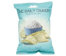 The Daily Crunch Keripik Talas Garam Laut 90 gr