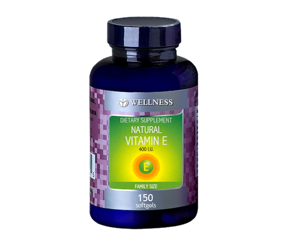 Wellness Natural Vitamin E 400 IU 150 Kapsul