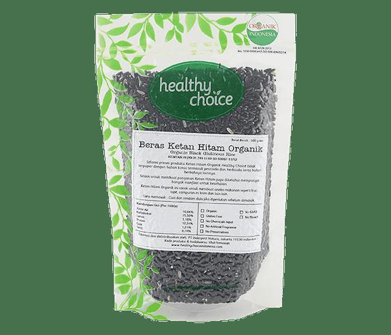 Healthy Choice Beras Ketan Hitam Organik