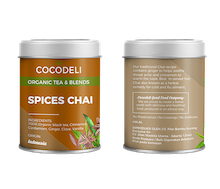 Cocodeli Organic Tea & Blends Spices Chai
