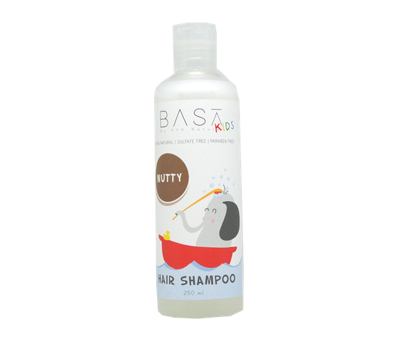 Basa Kids Hair Shampoo Nutty 250 ml