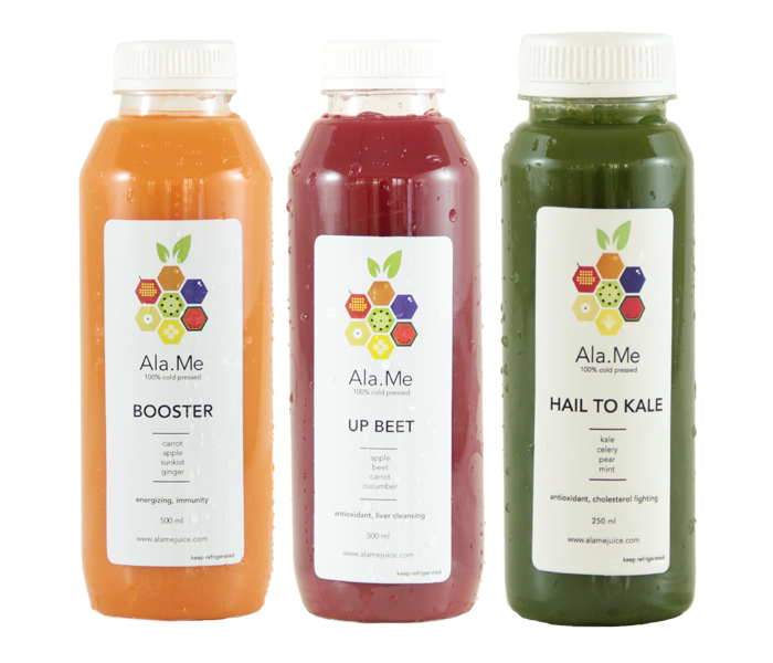 Ala.Me Choose Your Favorite 3 Cold Press Juice @250ml