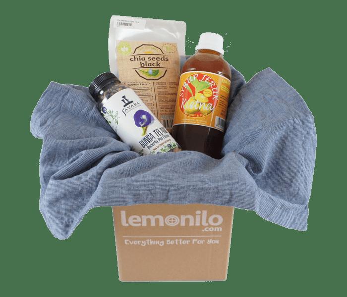LemoniloBox Paket Bahan Es Buah Alami