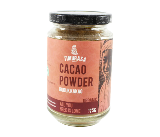 Timurasa Organic Cacao Powder Light 125 gr