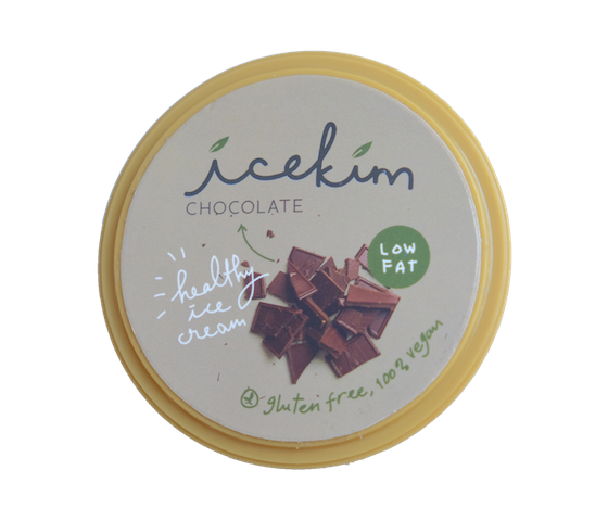 Icekim Ice Cream Chocolate 1 Liter (1 Kg)