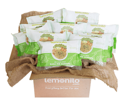 LemoniloBOX Paket Lemonilo Mie Goreng Instan Sehat Isi 10