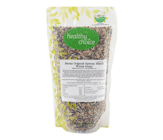 Healthy Choice Beras Spesial Blend Whole Grain 1 kg