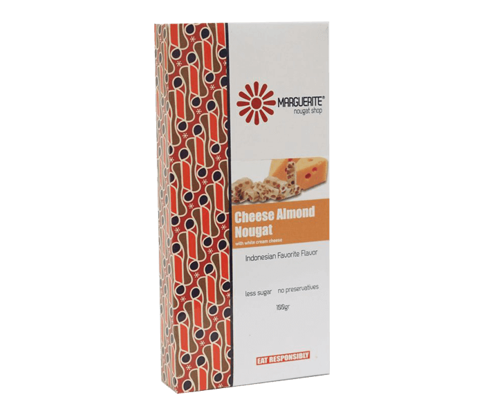 Marguerite Cheese Almond Nougat 125 gr