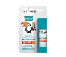 Attitude 100% Mineral Family Face Stick SPF 30