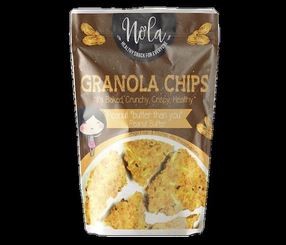 Nola Granola Granola Chips Peanut Butter 100 gr